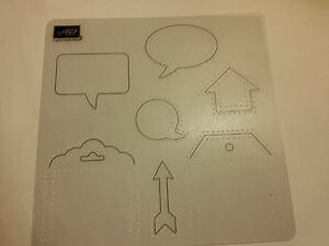 Stampin Up 1 Paper PIERCING Template Guide for WORD ...