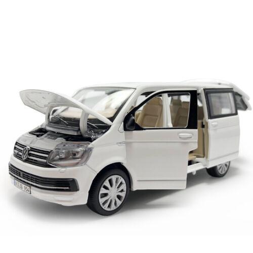 T6 Multivan MPV Metall Die Cast Modellauto Spielzeug Pull Back Sammlung Neu 1:32