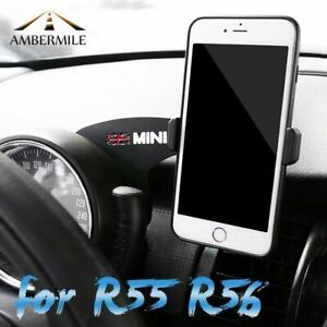Details about Car Mobile Phone Holder Bracket Auto Mount Stand for BMW Mini  Cooper R56 R55