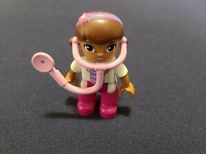 """LEGO DUPLO DOC McSTUFFINS DOCTOR NURSE Set 2.5/"""" FIGURE Replacement Disney"""