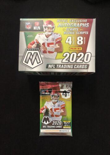 2020 Mosaic Football Blaster Pack (1) ? Possible  Burrow/Tua Auto Rookie?