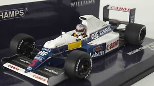 MINICHAMPS-437910105-1-43-Williams-FW13B-Nigel-Mansell-Test-Session-modele-F1