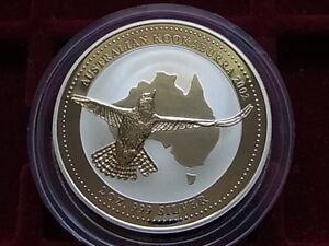 Australia-2002-2-oz-Silver-Kookaburra-2-BU-In-capsule