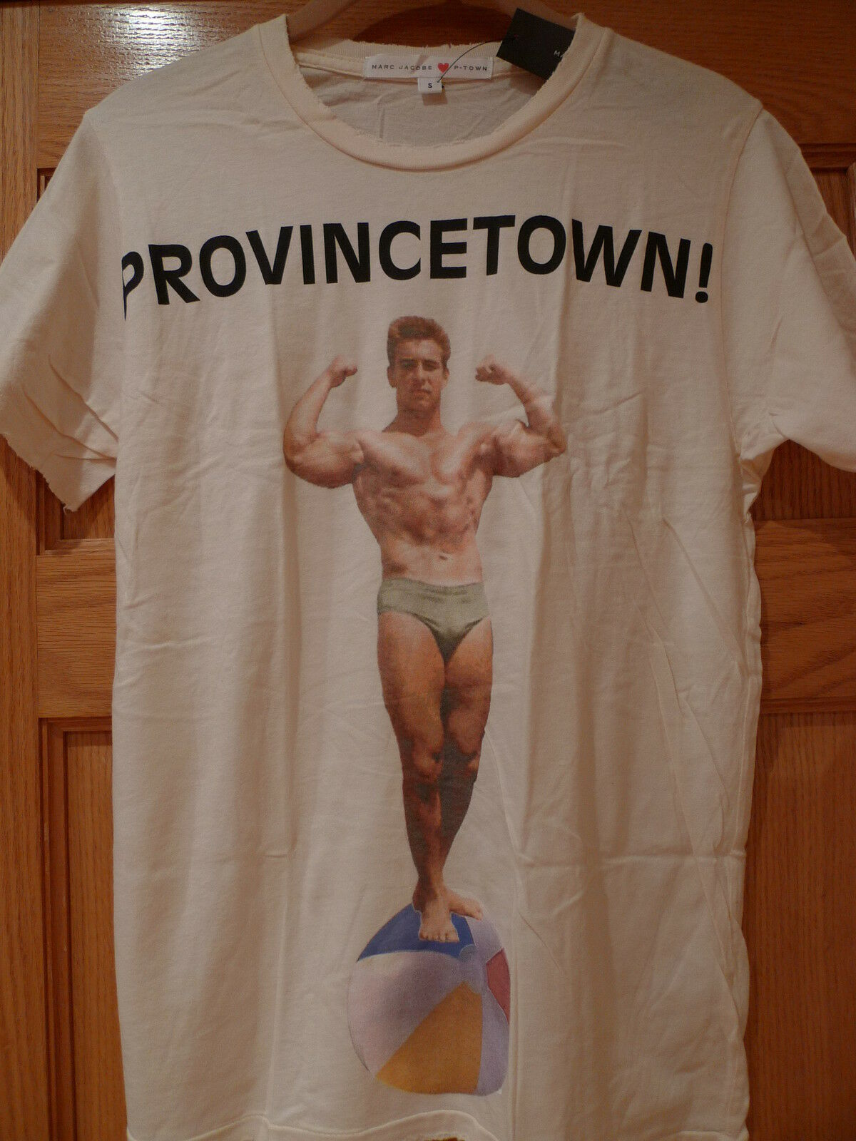 MARC JACOBS ORIGINAL P-TOWN RARE DISTRESSED Herren T-SHIRT AVAILABLE SIZES S or M