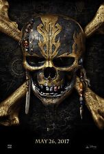 Pirates of the Caribbean Dead Men Tell No Tales Movie Poster (24x36) - Depp Rush