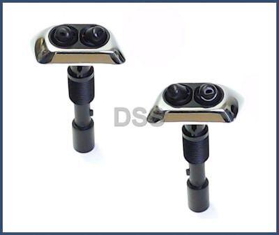 Original Genuine Black Headlight Washer Nozzle Left BMW 7 Series E38 1994-2001