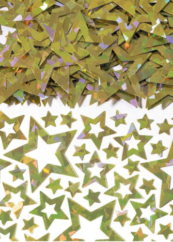 Gold Star Shimmer Party Table Confetti