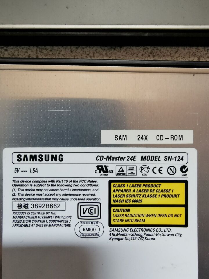 Samsung SN-124, Samsung, God