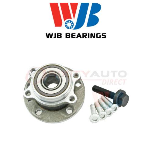WJB Wheel Bearing /& Hub Assembly for 2009-2014 Volkswagen CC 2.0L 3.6L L4 V6 gg