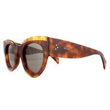 4aff0c0dbce9 Celine CL 41377 s 086 Dark Havana Frame Brown Lenses Sunglasses