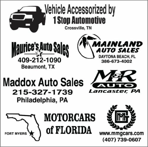 HIGH QUALITY STICKERS YOUR CUSTOM DESIGN. 100 AUTO DEALER ID TRUNK DECALS!