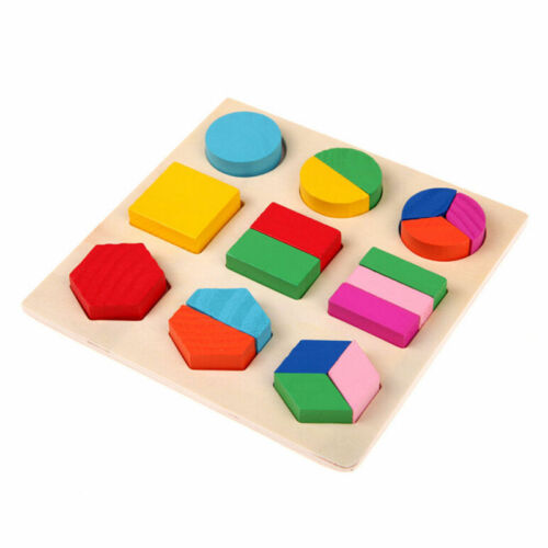 Wooden ABC Letters Alphabet Numbers Animal Puzzle Jigsaw Childrens Kids Learning