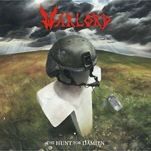WARLORD-The-Hunt-For-Damien-LP-2015-white-vinyl-RE-RECORDED-US-Epic-Metal