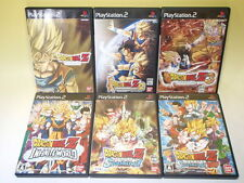 Used PS2 Lot 6Games Dragon Ball Z 1 2 3 Sparking Neo Infinite from Japan /899