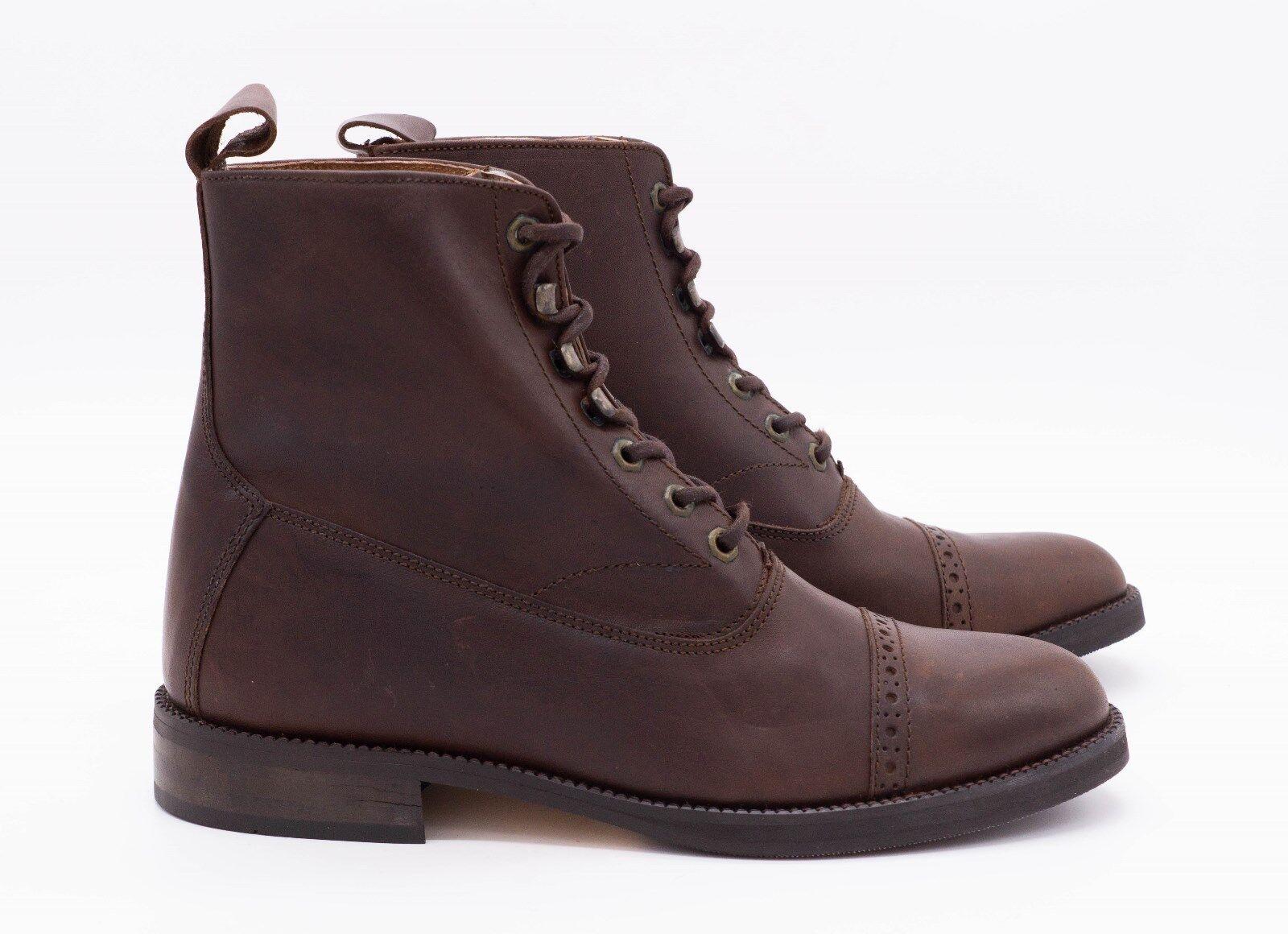 Hobo botín Vienna ne marrón señores chelsea botas 45 43