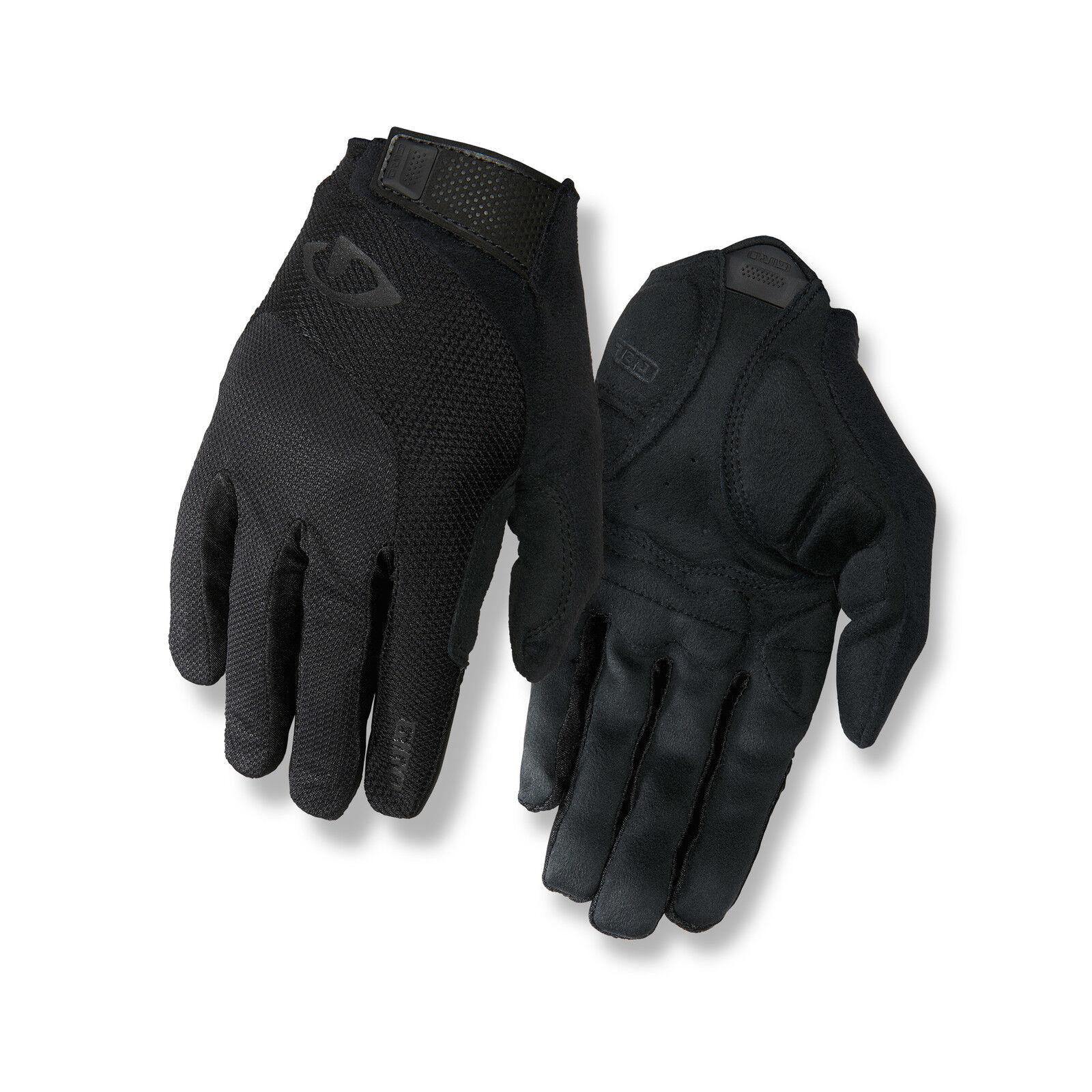 Giro Bravo Gel Fahrrad Handschuhe lang black 2019