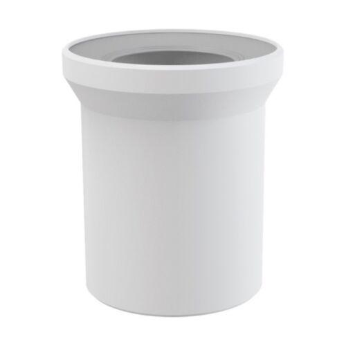 WC-Anschluß Anschlussstutzen L 150 mm Abfluß weiß DN 110 WC-Abfluß Abflussrohr