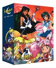 Sailor Moon Complete TV Season 1 2 3 4 5 + Movie Collection English Dubbed DVD