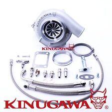 "Kinugawa Ball Bearing Turbo FOR 4"" Anti Surge GTX3076R 60mm w/ .73 T3 V-Band"