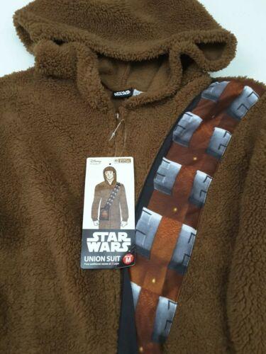 Disney Star Wars Chewbacca Union Suit Costume Pajamas Size S or M