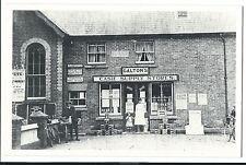 Galtons Cash Supply Stores Shopfront PPC Unposted Reprint, Ferndown, Bournemouth