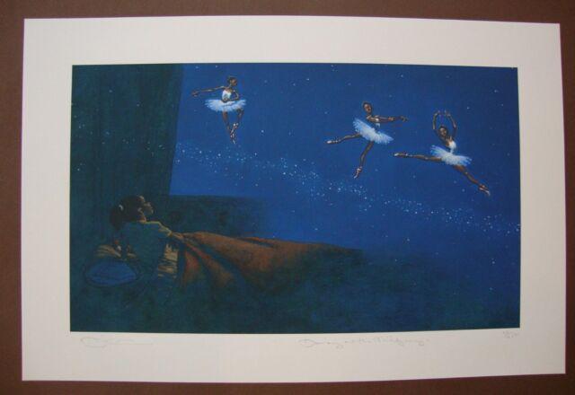 Kadir Nelson Dancing on the Milky Way Printer/'s Proof LE watercolor Giclée