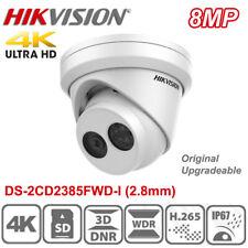Original Hikvision DS-2CD2385FWD-I 8MP H.265 IP67 POE Turret Network Camera 2.8m