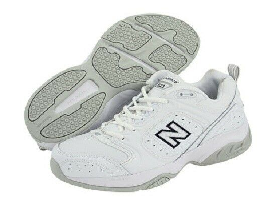 NIB NEW BALANCE MX623 PREMIUM LEATHER WALKING COMFORT / DIABETIC SHOES