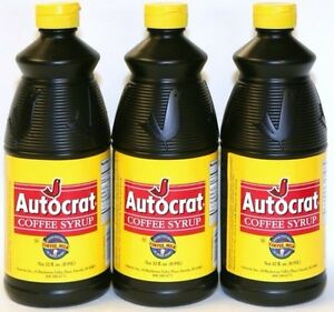 Autocrat Coffee Syrup For Sale