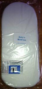 DOLLS-TOY-PRAM-SAFETY-MATTRESS-matress-Silver-Cross-Ranger-Made-in-the-UK