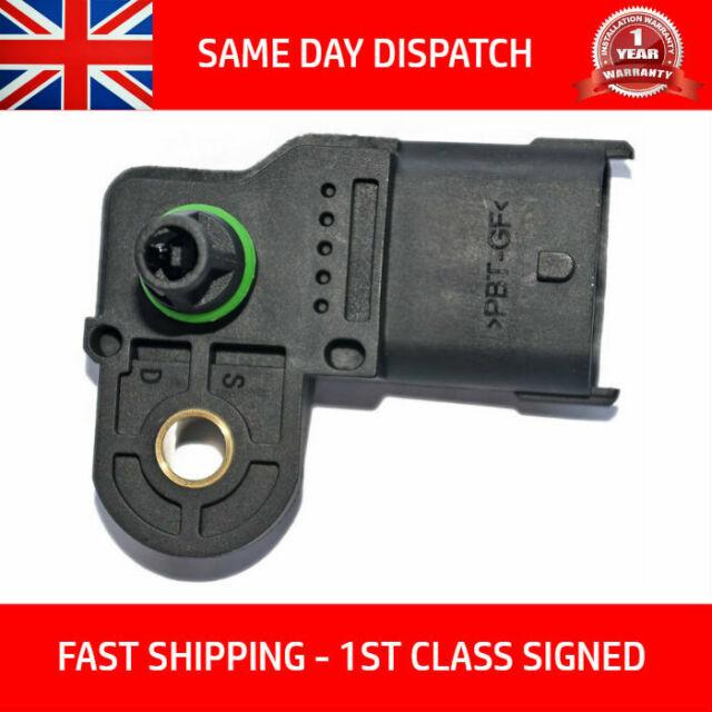 FITS OPEL ZAFIRA A 2.2D MAP Sensor 02 - 05 Y22DTR Collecteur Pression Bosch 244598