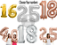 Self-Inflating-32-034-40-039-039-Foil-Number-Balloons-Birthday-Age-Party-Wedding-Decor thumbnail 2