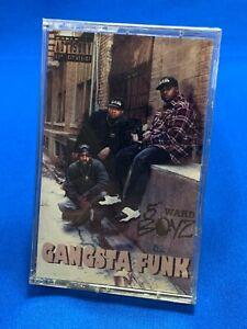 5th Ward Boyz – Gangsta Funk Cassette Tape Album 1994 Hip Hop TEXAS Rap SEALED