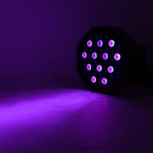 72W DMX Bühnenlicht UV Strahler Licht Stageeffekt LED Schwarzlicht+Fernbedienung