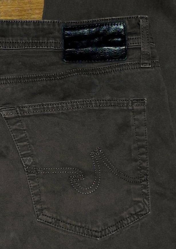 Ag Adriano oroschmied graduado Tailorojo Pierna Para Hombre Marrón Oscuro  Suave Jeans 36x30  venta al por mayor barato