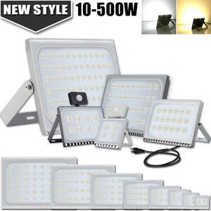 LED-Flood-Light-10W-20W-30W-50W-100W-150W-200W-300W-500W-PIR-Sensor-AU-PLug-240V