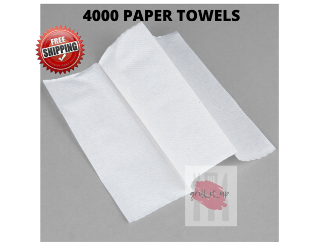 250 Count Georgia-Pacific Marathon Multifold White Paper Towels New