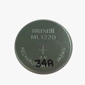 Details about New Genuine for Maxell ML1220 3V Rechargeable Battery BIOS  CMOS Battery Coin