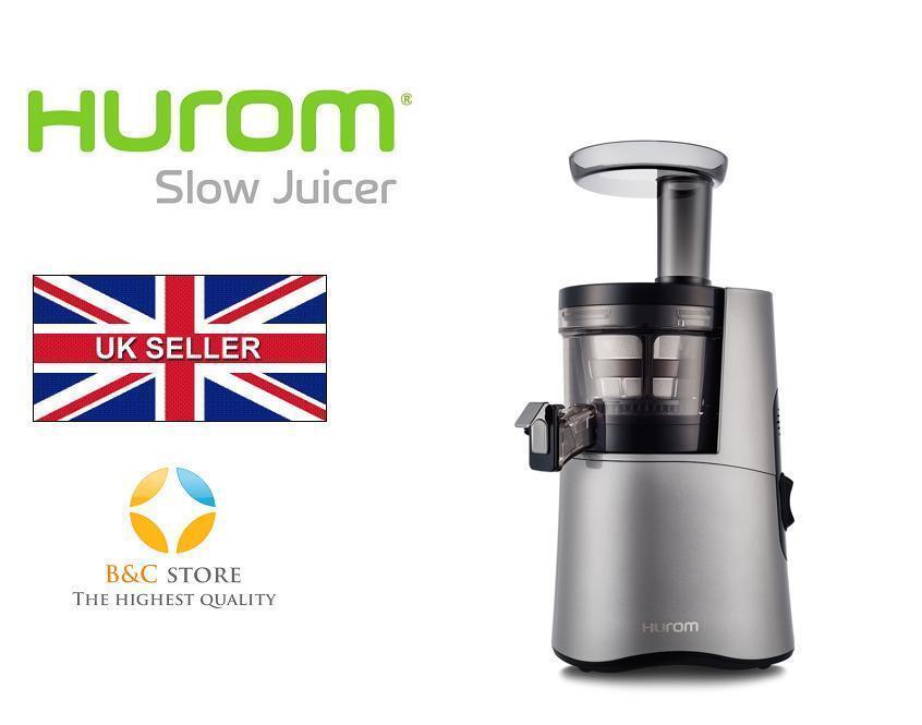 Hurom H-AA Slow Juicer Jus maker fruits design Alpha H-AA-DBE17 ARGENT