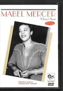 VIEW Video Mabel Mercer - A Singers Singer Deluxe Edition, Jazz Series USED DVD