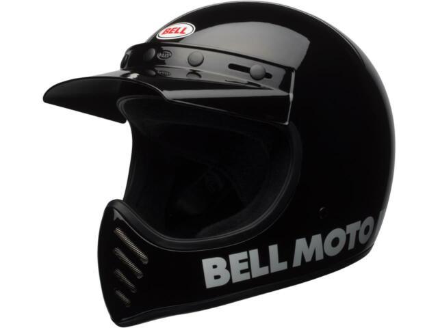 Casque cross moto BELL Moto-3 Classic Black COLLECTION 2020
