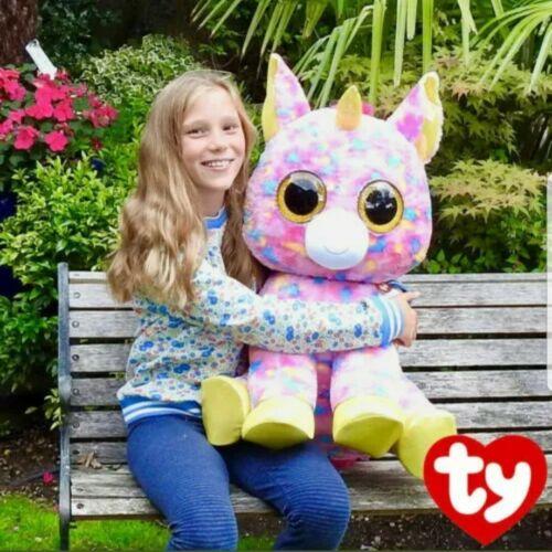 "Fantasia Unicorn Plush Collectable Toy 1+ Years 63.5cm Ty Beanie Boo XL 25/"""