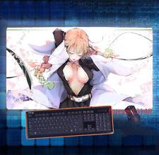 Anime RWBY Ruby Ruby Rose Cosplay Mouse Pad Large PlayMat Anti-Slip PC Mice Pad