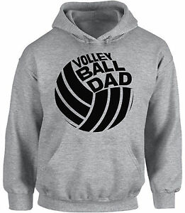Volleyball-Dad-Hoodie-Hooded-Sweatshirt-Sport-Dad-Volleyball-Father-s-Day-Gift
