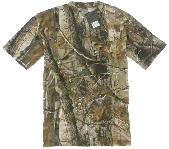 TREE CAMO STEALTH T-SHIRT mens cotton tee S-XXL hunting fishing camping shooting