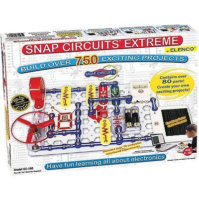 ELENCO SC-750 Snap Circuits Extreme NEW!!!