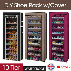 10 Tier Shoes Cabinet Storage Organiser