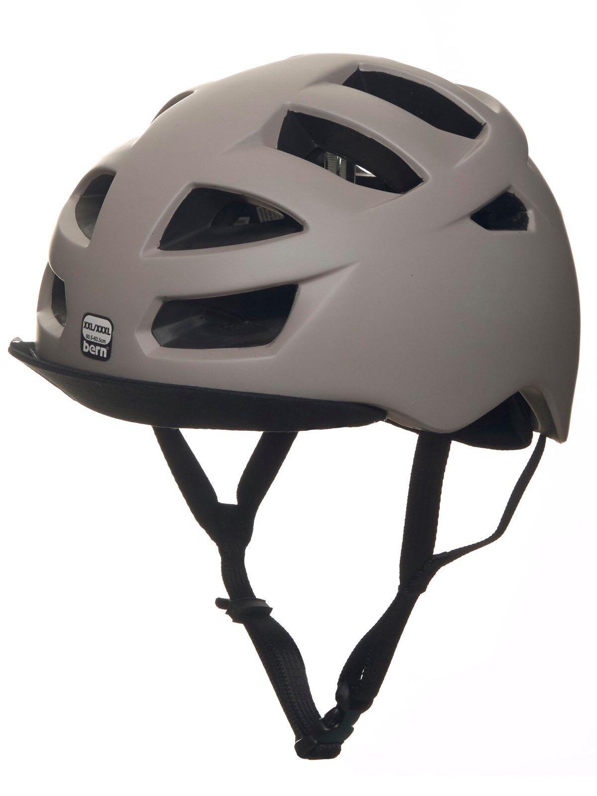 Bern Allston Zipmold Bicicletta Boa Casco Matte Grigio Sabbia SM LXL XXLXXXL