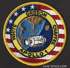 APOLLO 1 LION BROTHERS VINTAGE ORIGINAL NASA CLOTH BACK SPACE PATCH EXCELLENT