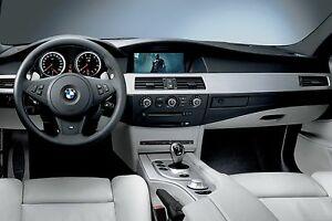 2004-2008 BMW 5 Series E60 E61 Video Interface Add TV DVD iPhone ...